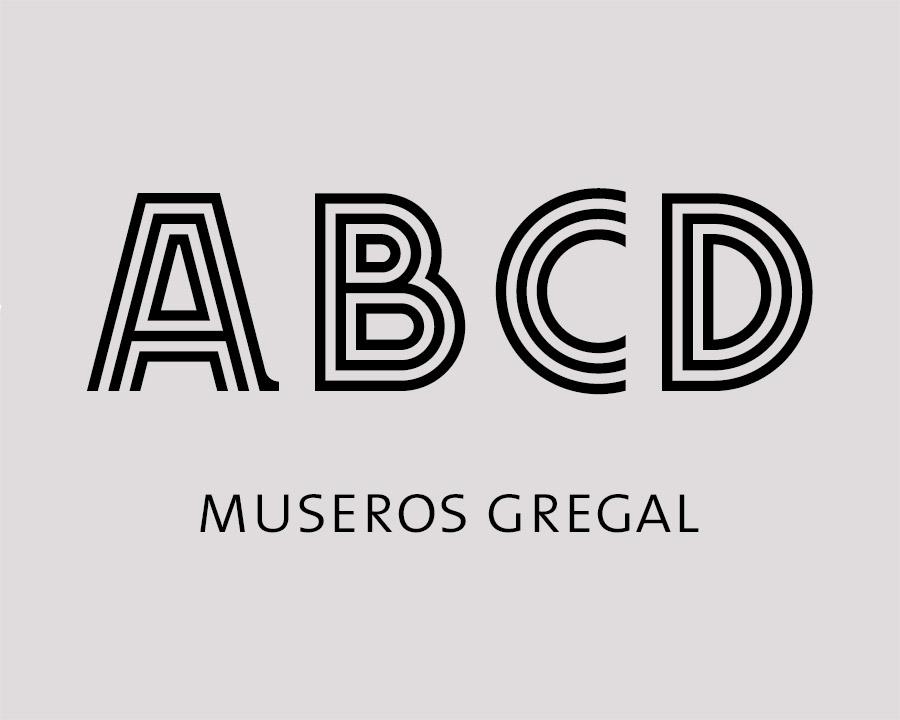 Nova tipografia Gregal